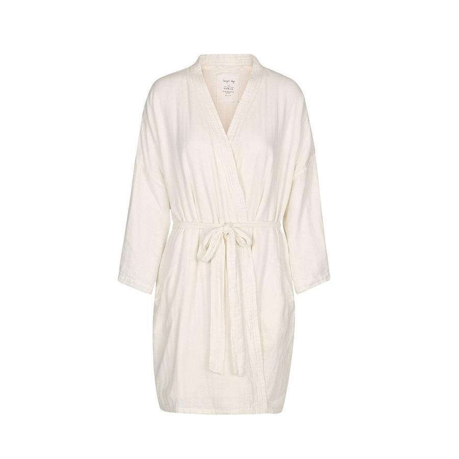 "Muslin Bathrobe ""Mommy Robe Nature"""