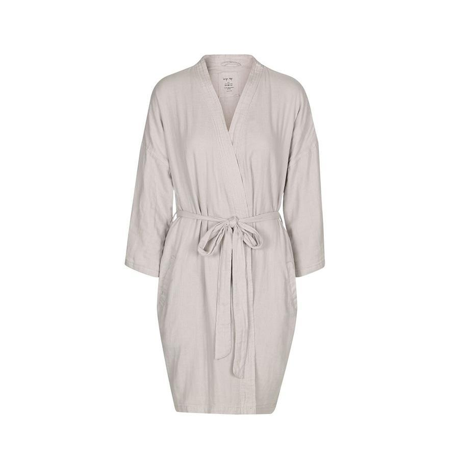 "Muslin Bathrobe ""Mommy Robe Nimbus Cloud"""