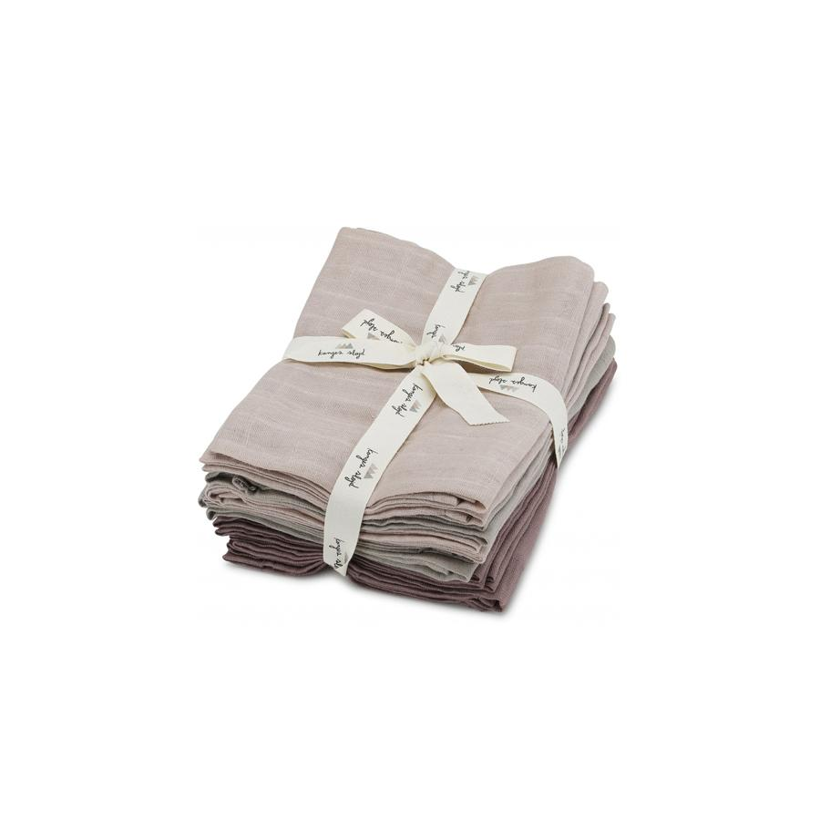 "Muslin Cloth ""Girl"" Pack of 10"