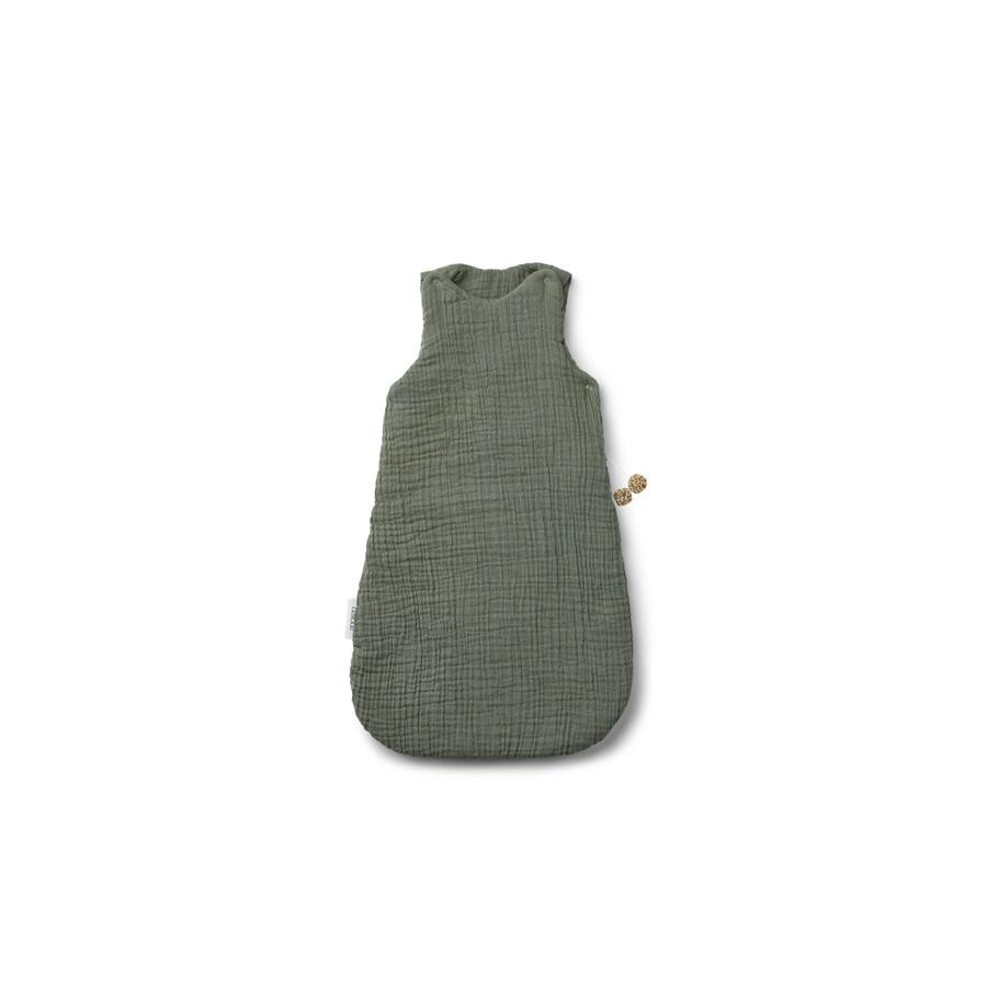 "Baby Sleeping Bag ""Ina Faune Green"" for autumn / winter"