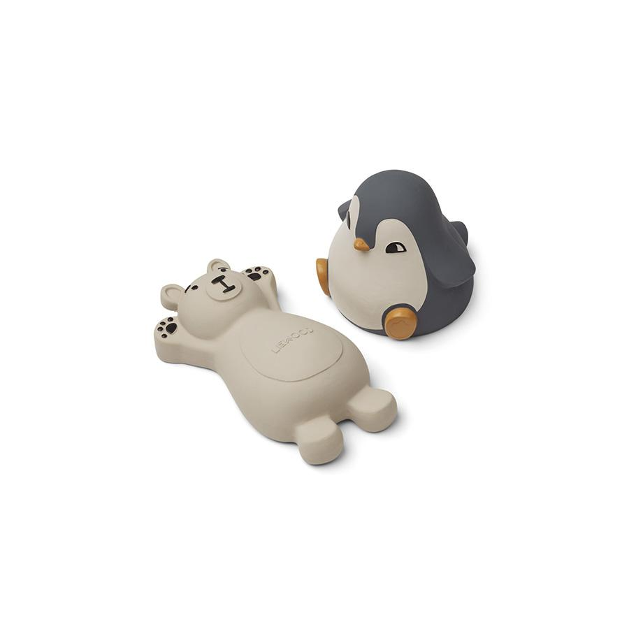 "Bath Toys ""Knud Blue Mix"" Pack of 2"