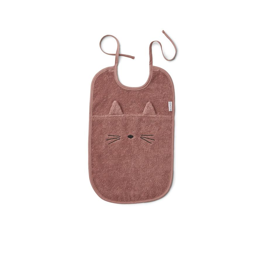 "Bib ""Theo Cat Dark Rose"""
