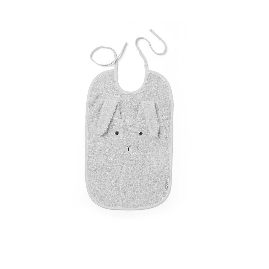 "Bib ""Theo Rabbit Dumbo Grey"""