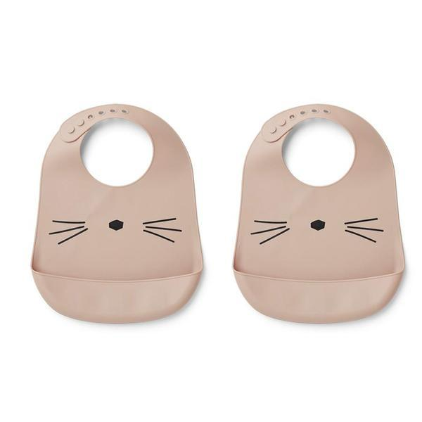 "Bib ""Tilda Cat Rose"""
