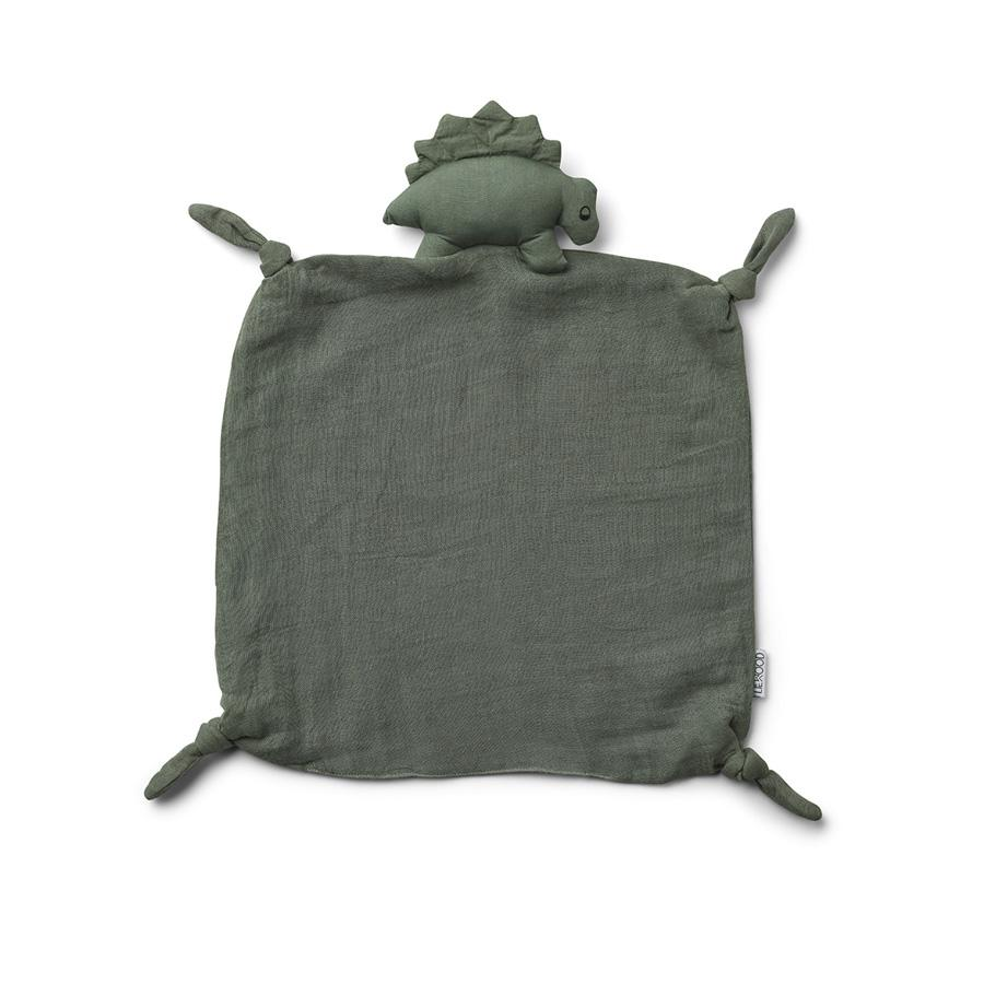 "Cuddle Cloth ""Agnete Dino Faune Green"""
