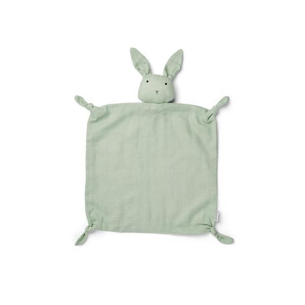 "Cuddle Cloth ""Agnete Rabbit Dusty Mint"""