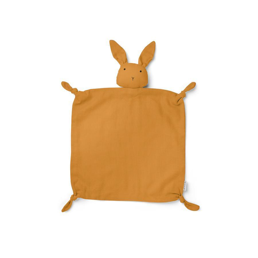 "Cuddle Cloth ""Agnete Rabbit Mustard"""