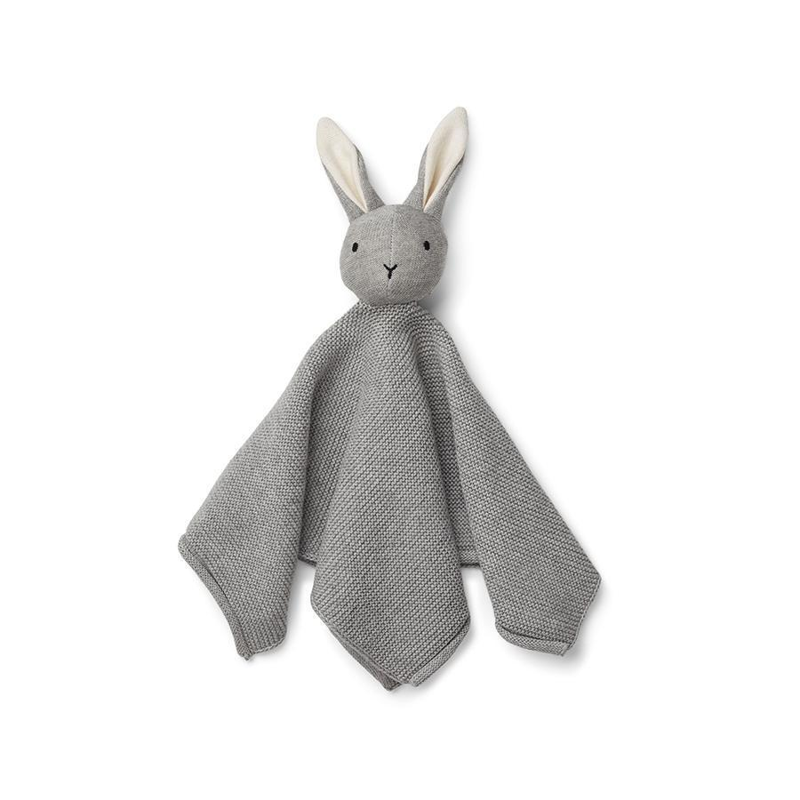 "Cuddle Cloth ""Milo Rabbit Grey Melange"""