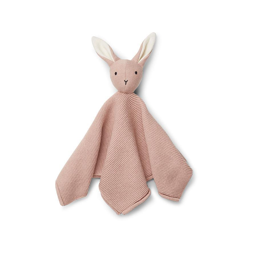 "Cuddle Cloth ""Milo Rabbit Rose"""