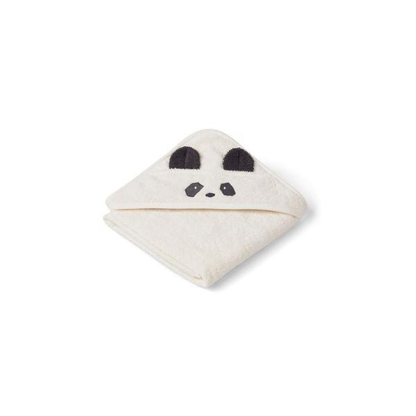 "Hooded Towel ""Albert Panda Creme de la Creme"""