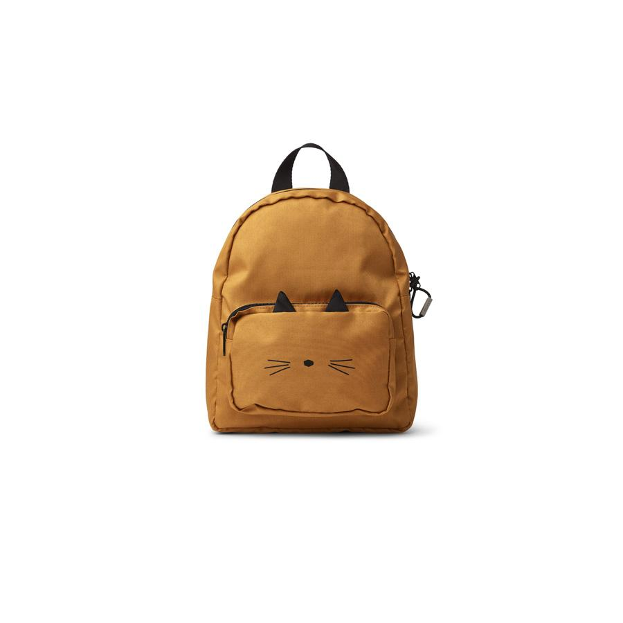 "Kids Backpack ""Allan Cat Mustard"""