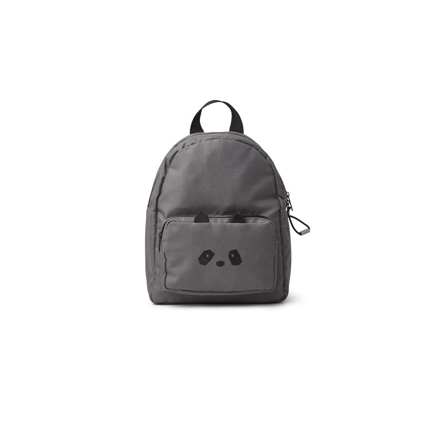 "Kids Backpack ""Allan Panda Stone Grey"""