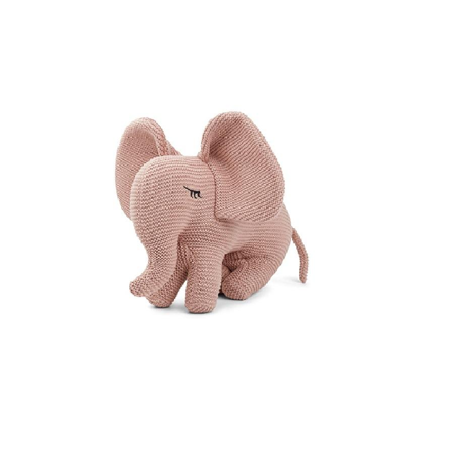 "Knitted Toy ""Dextor Elephant Rose"""