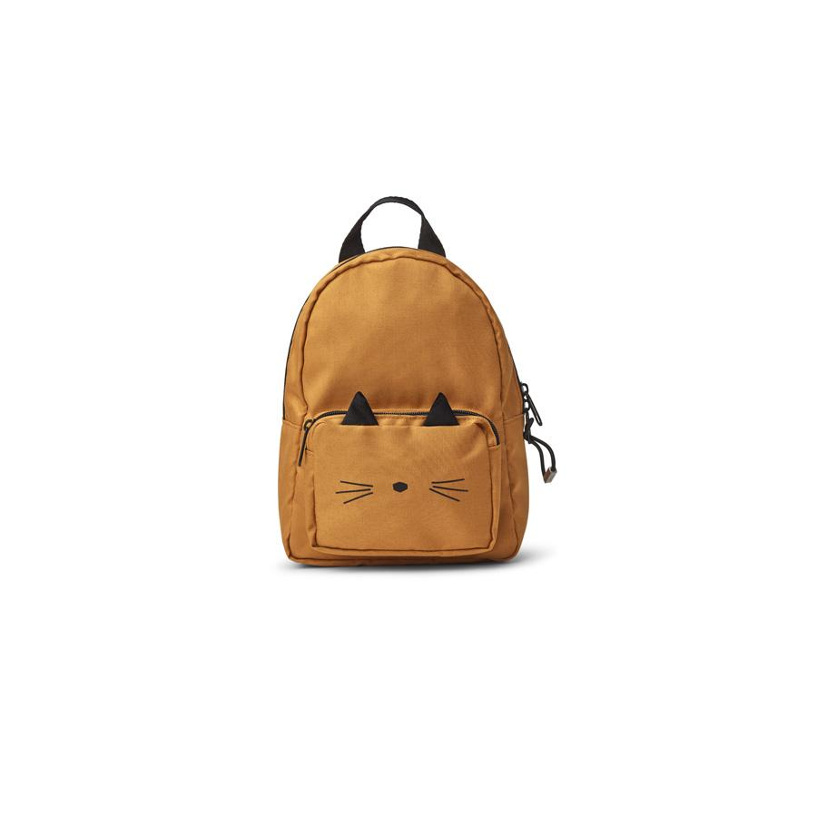 "Mini Backpack ""Saxo Cat Mustard"""