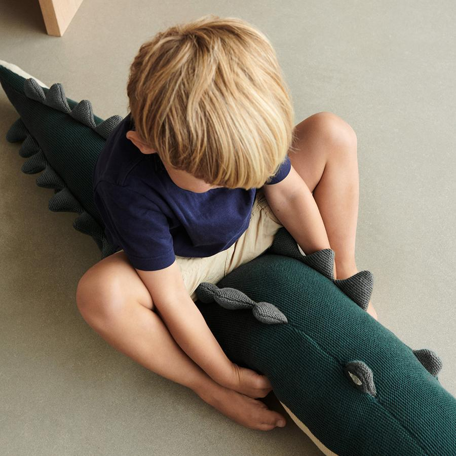 "Soft Toy ""Carlos Crocodile Garden Green"""