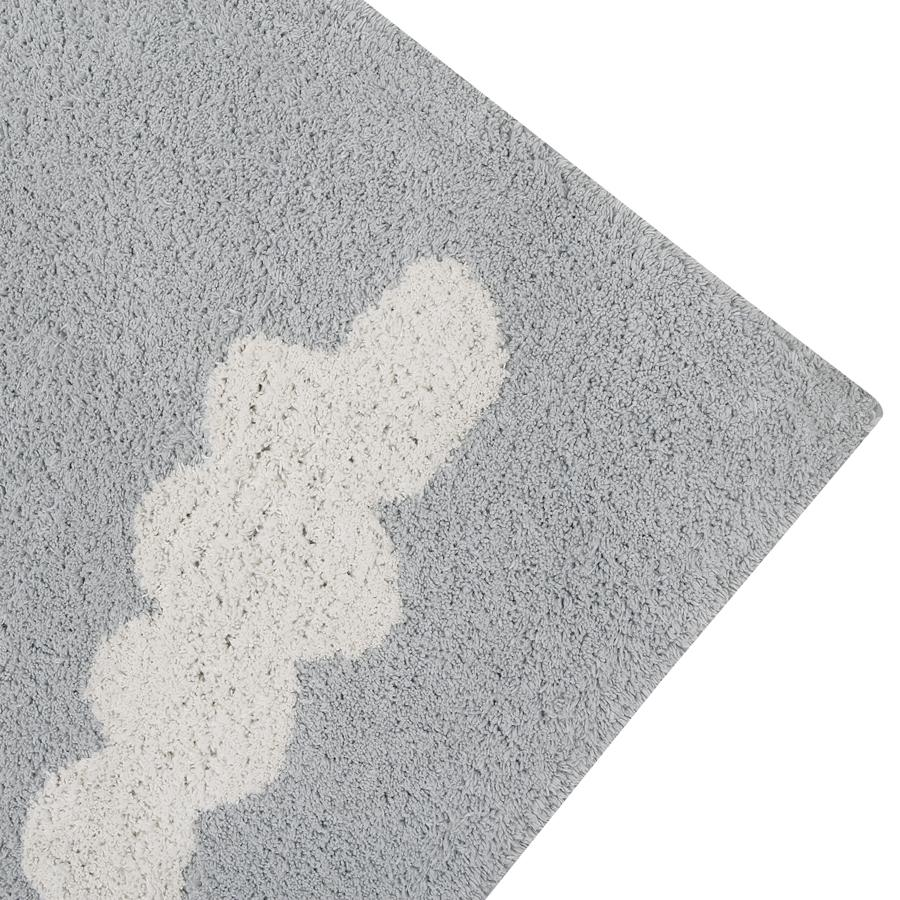 "Washable Carpet ""Clouds Grey"""