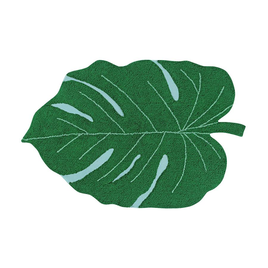 "Washable Carpet ""Monstera Leaf"""