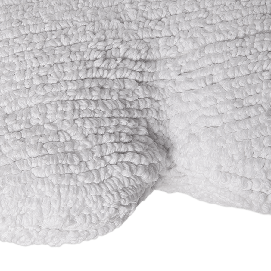 "Washable Cushion ""Cloud White"""
