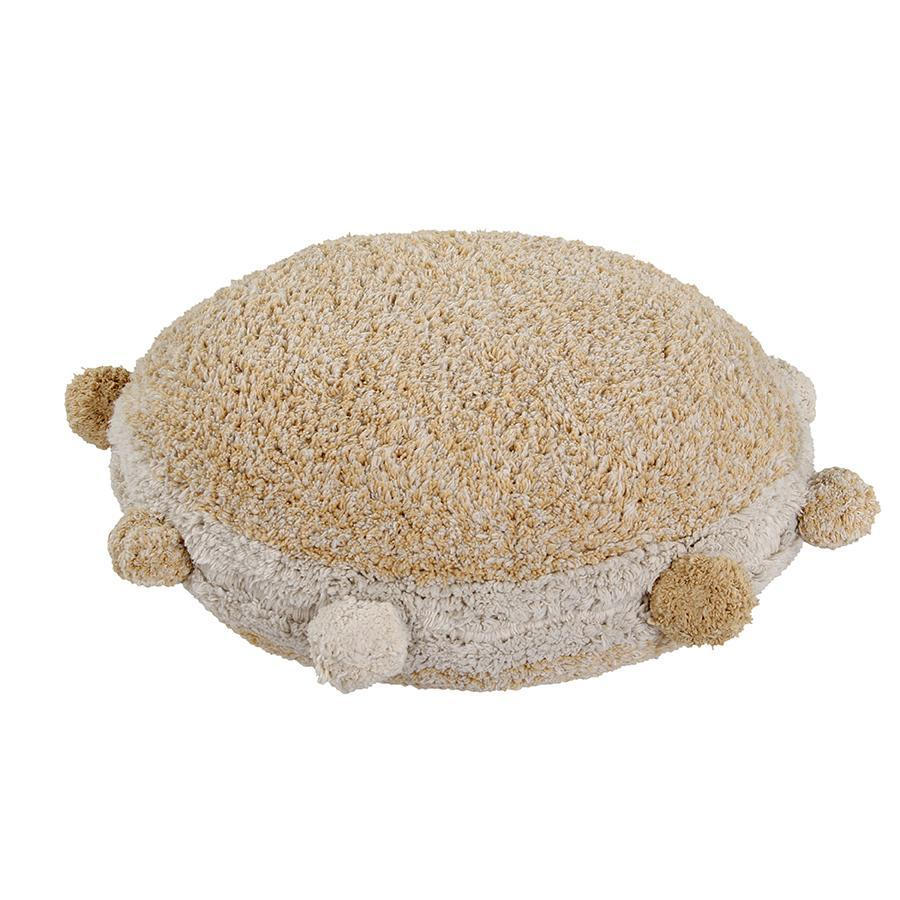 "Washable Seat Cushion ""Bubbly Honey"""