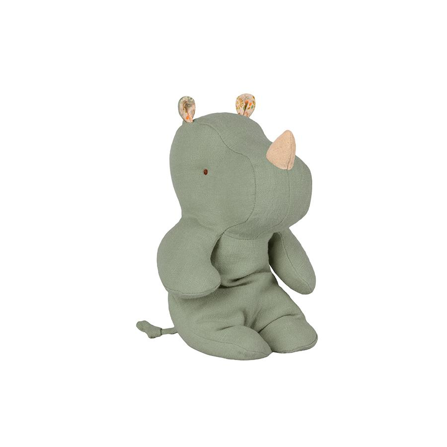 "Cuddly toy ""Safari Friends – Rhino Dusty Green Small"""