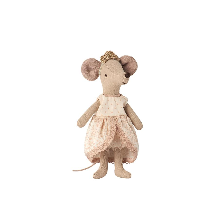 "Doll cloth ""Mouse Micro Princess Dress Rose"""