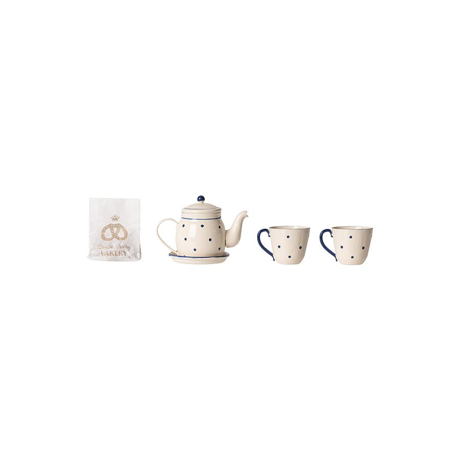 "Doll House Accessories ""Tea & Biscuits for Two"