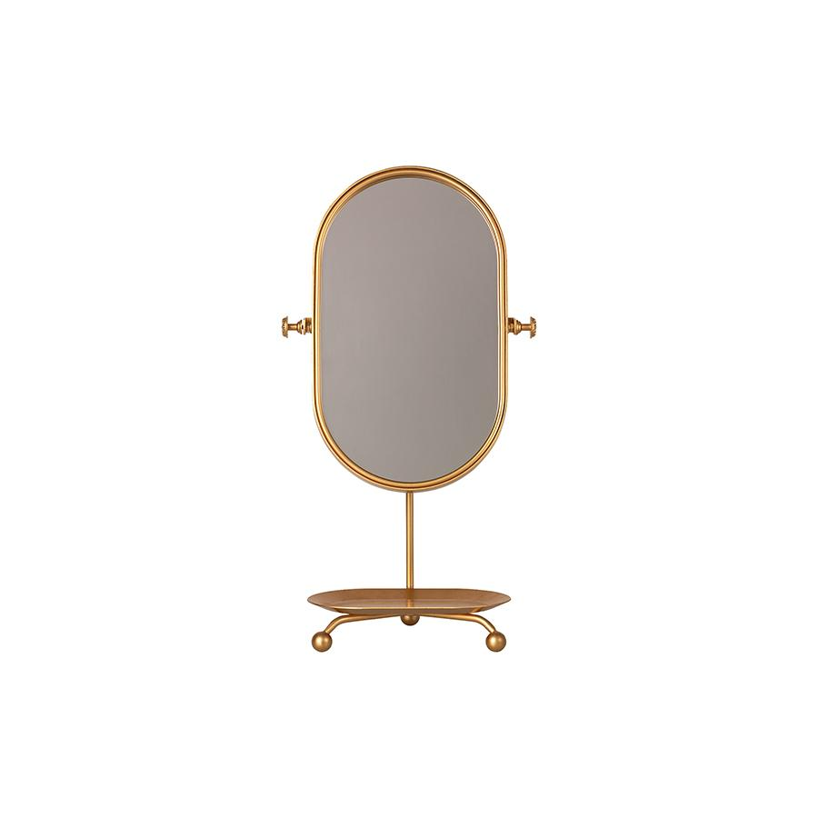 "Table mirror ""Gold"""