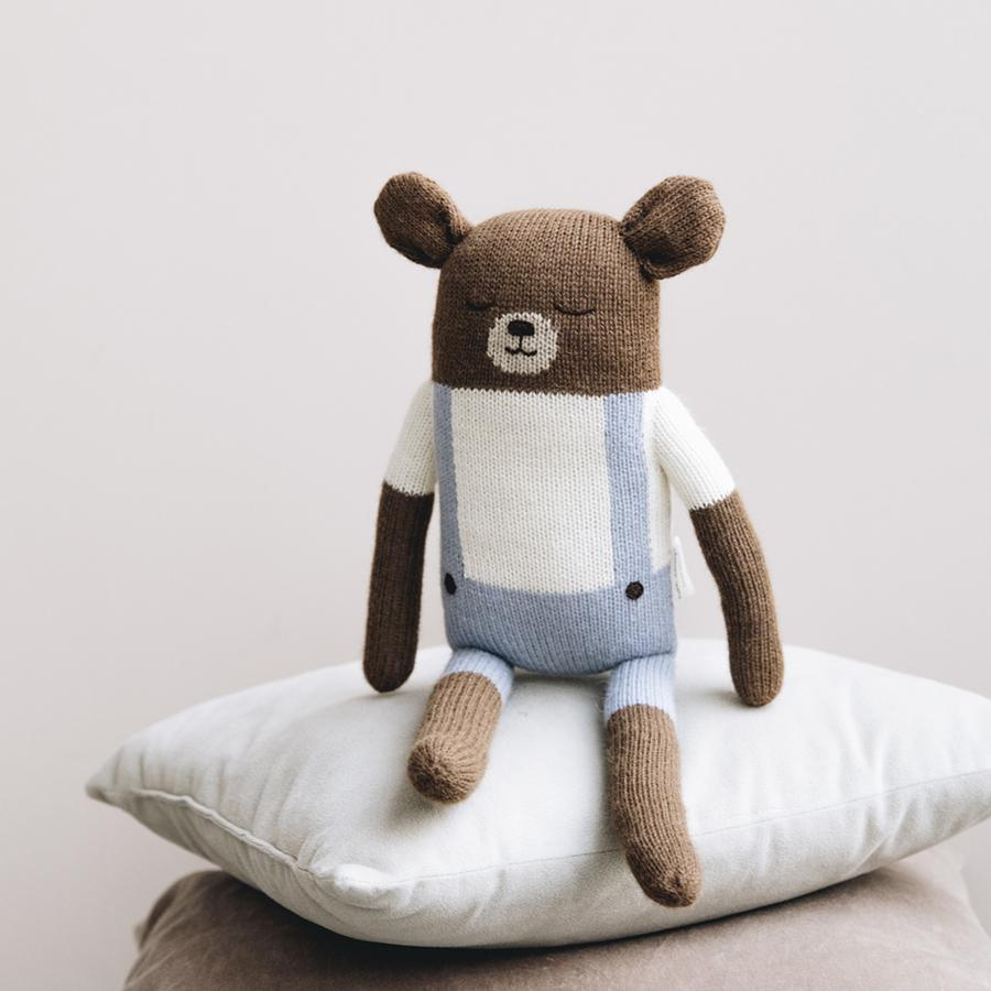 "Soft Toy ""Big Teddy Blue"""