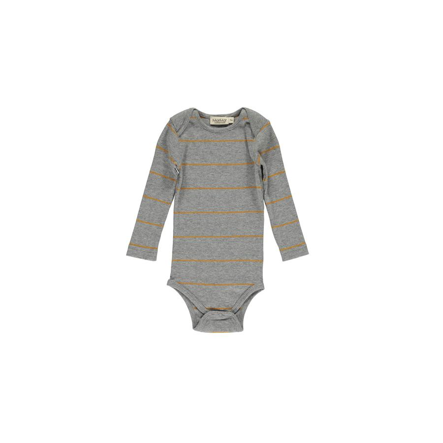 "Long-sleeved Body ""Ben Turmeric Stripe"""