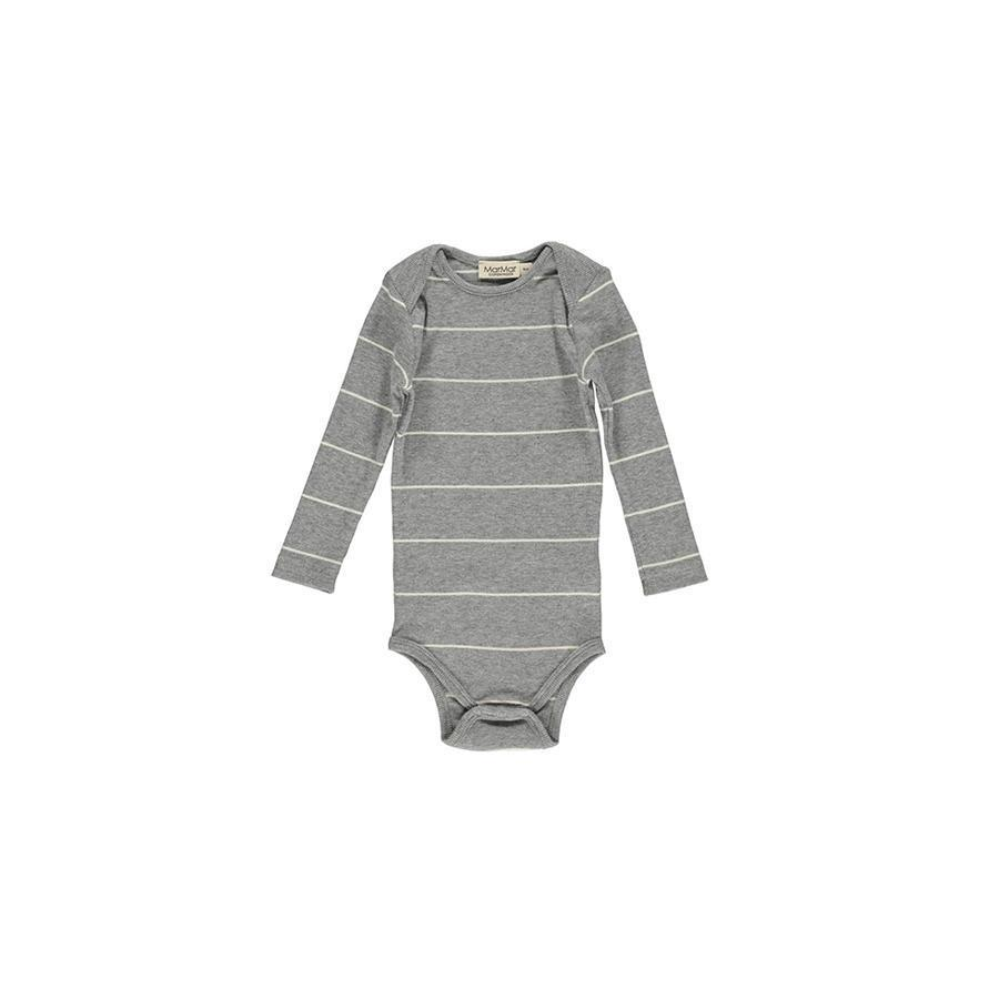 "Long-sleeved Body ""Ben Offwhite Stripe"""