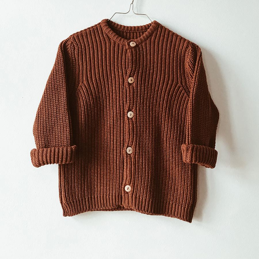 "Knitted Cardigan ""Dust"""