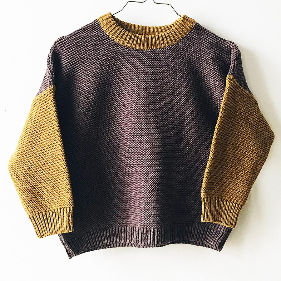 "Knitted Pullover ""Liberty"""