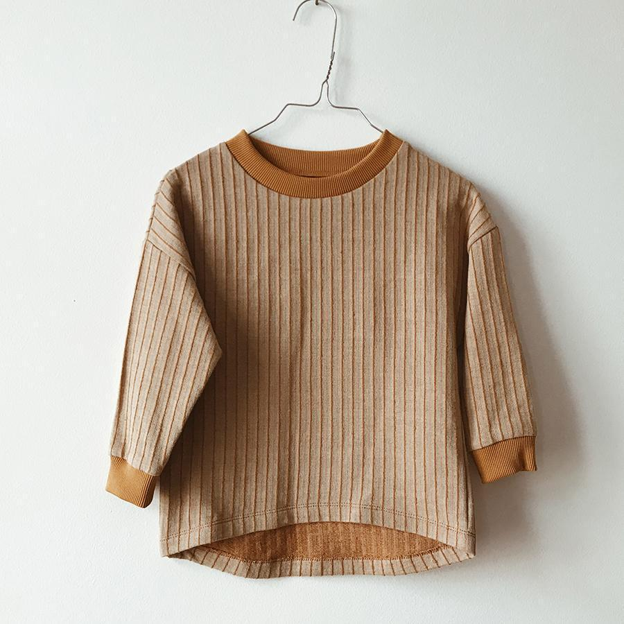 "Oversize-Pullover ""Parallel"""