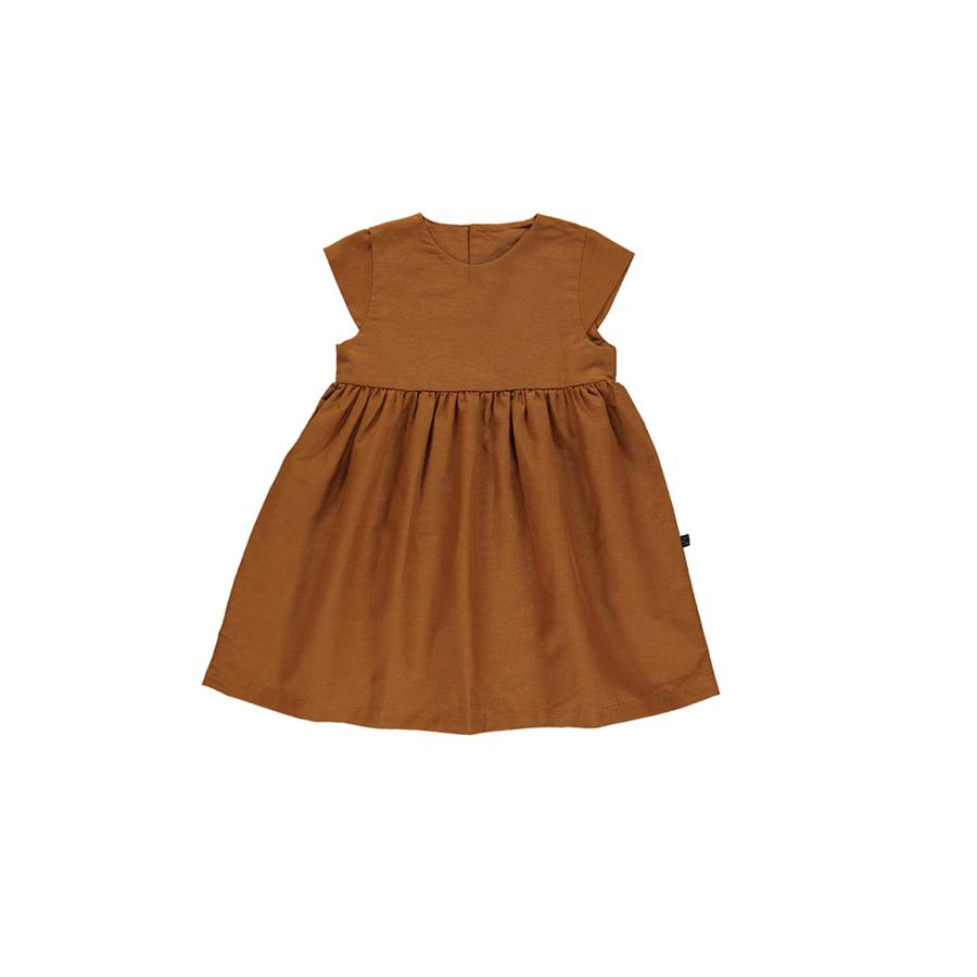 "Short sleeve dress ""Honey"""
