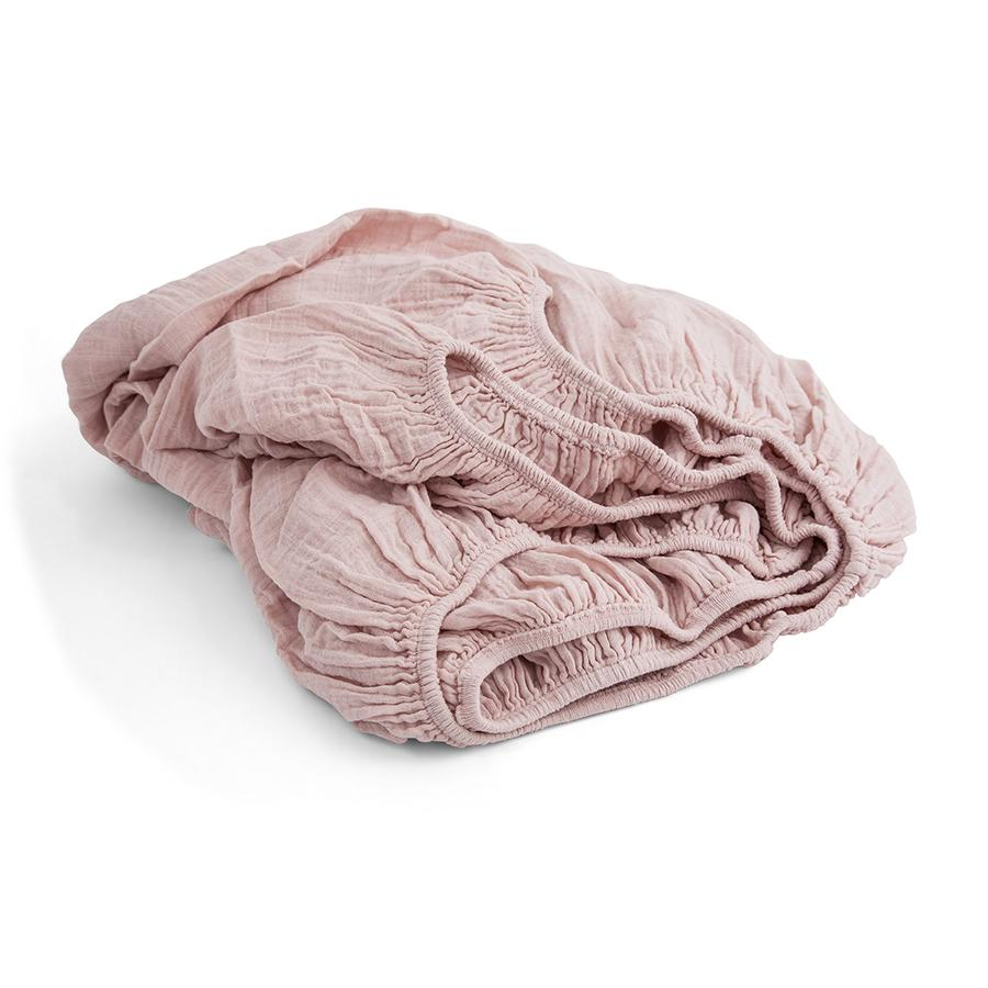 "Fitted Sheet ""Nu"" made from Muslin"