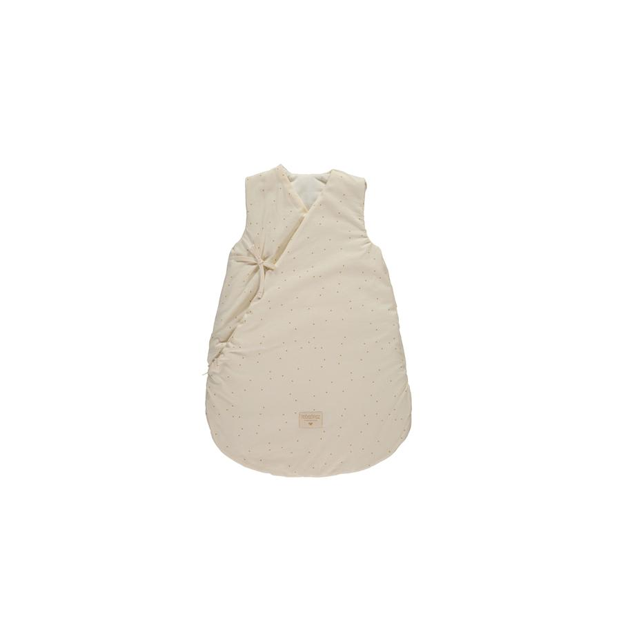 "Baby Sleeping Bag ""Cloud Honey Sweet Dots / Natural"""