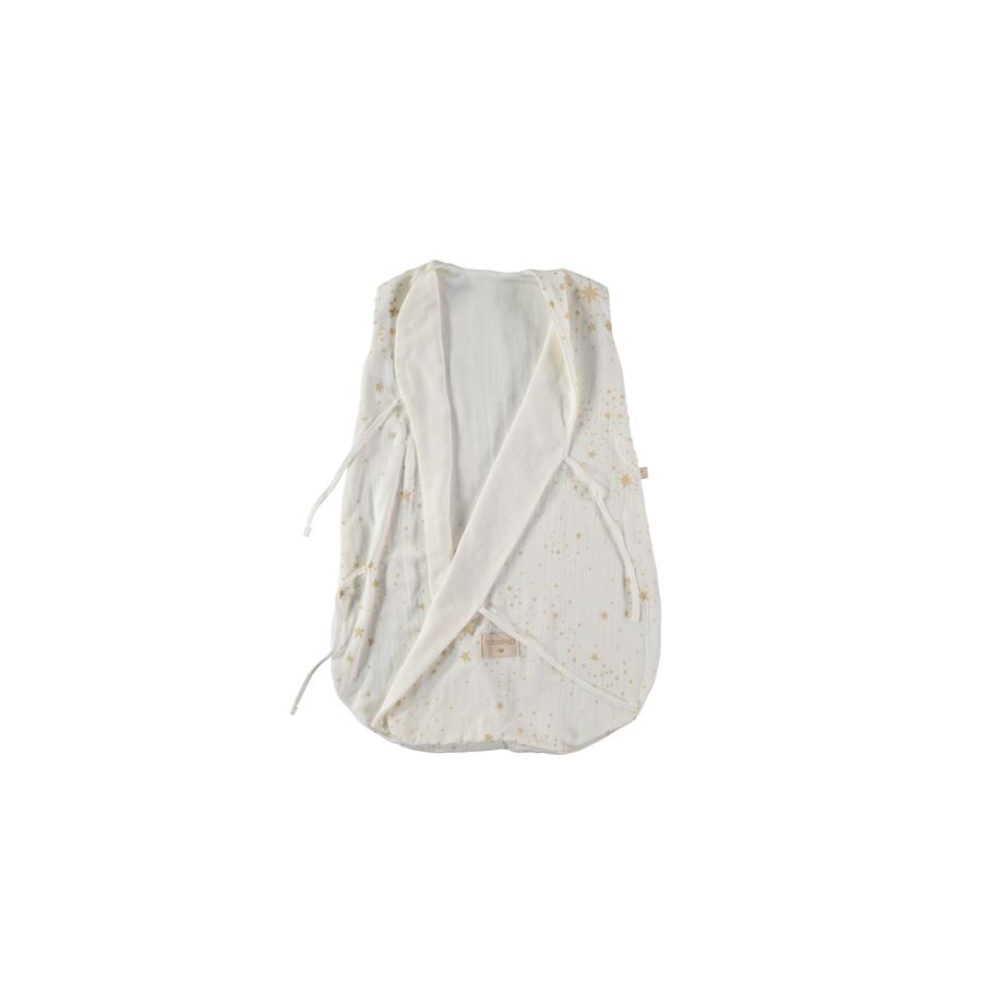 "Baby Sleeping Bag ""Dreamy Dream Gold Stella / White"""