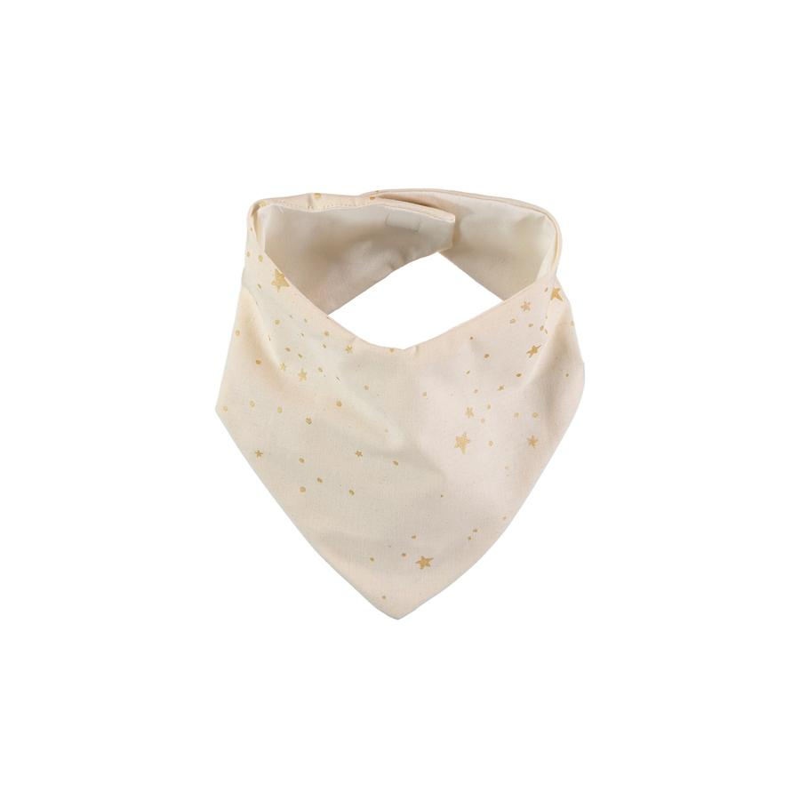 "Bandana Bib ""Lucky Gold Stella / Natural"""