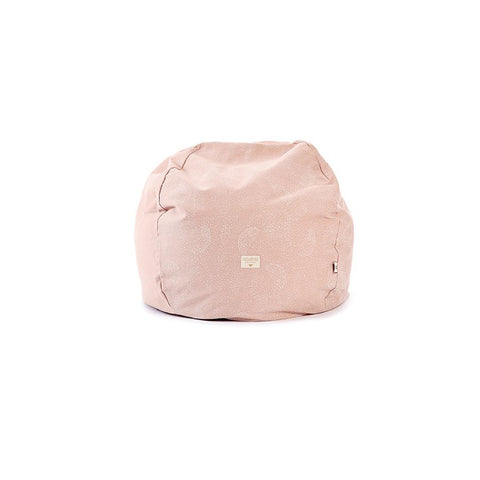 "Beanbag ""Balloon White Bubble Misty Pink"""