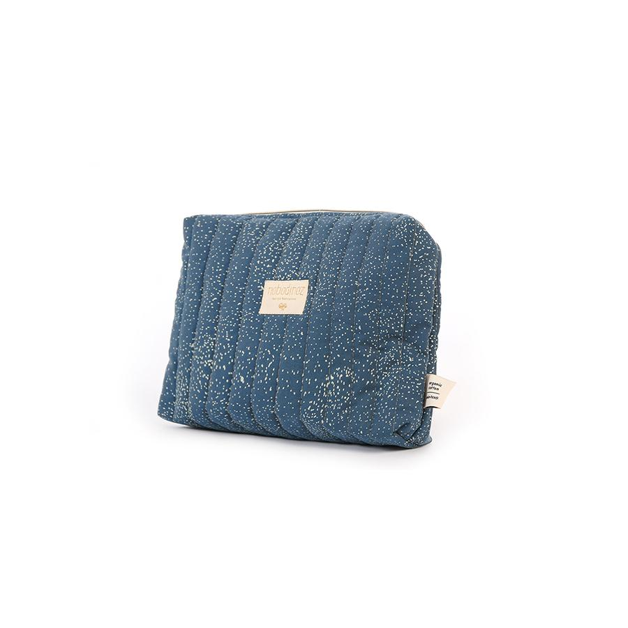 "Beauty Purse ""Travel Gold Bubble / Night Blue"""