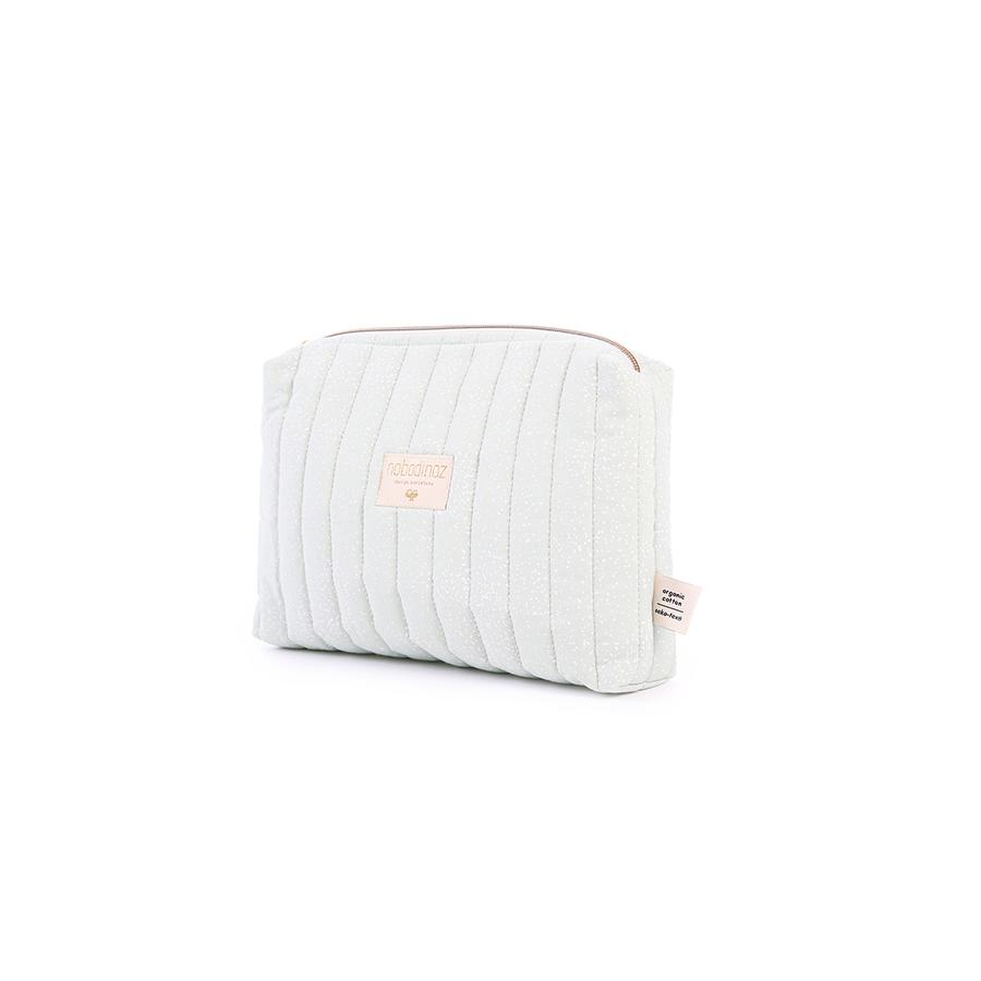"Beauty Purse ""Travel White Bubble / Aqua"""