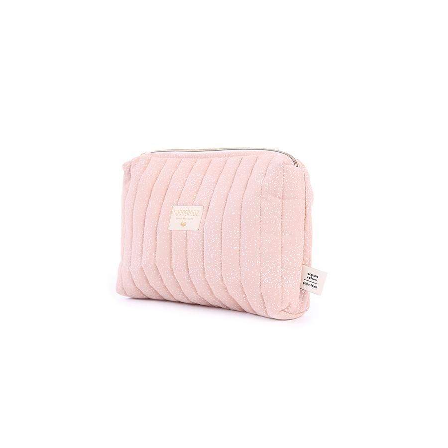 "Beauty Purse ""Travel White Bubble / Misty Pink"""