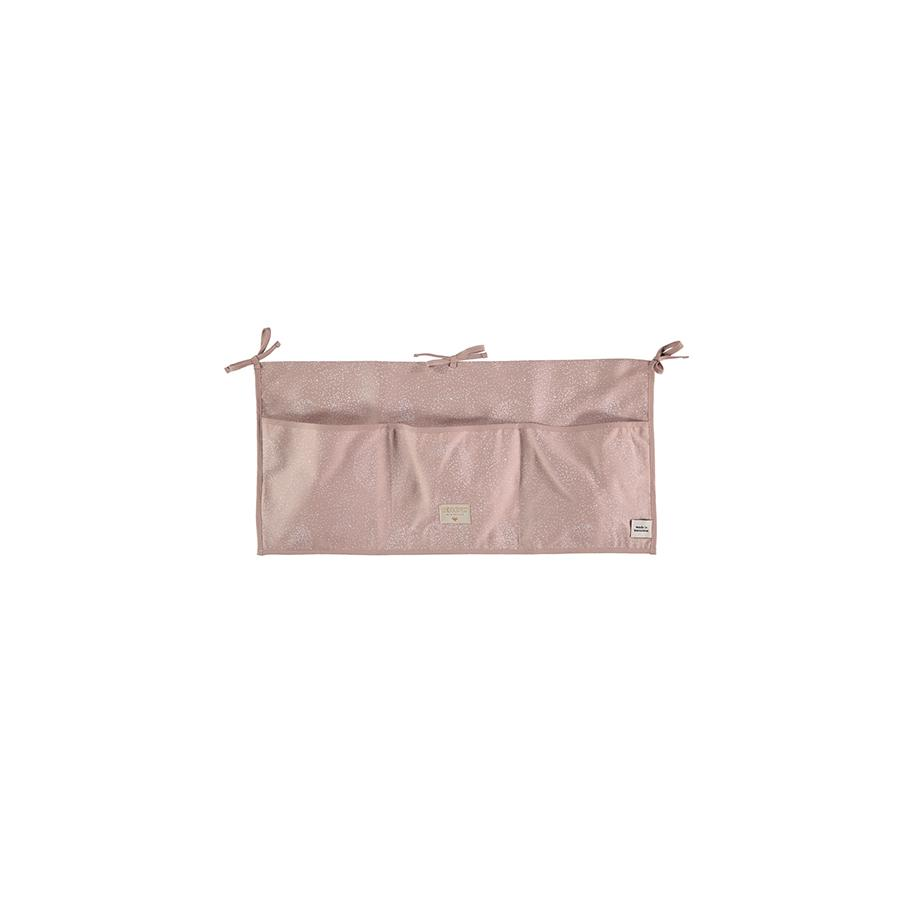 "Bed Pocket ""Merlin White Bubble / Misty Pink"""