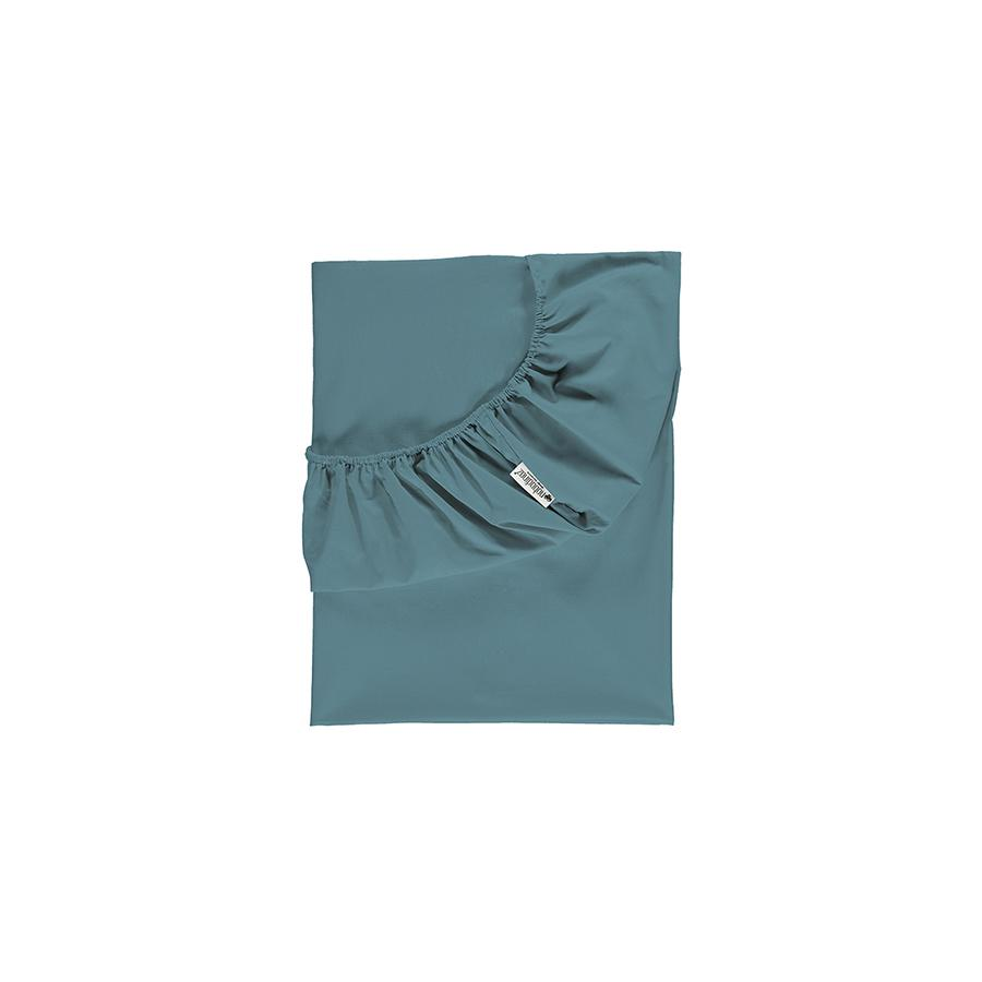 "Fitted Sheet ""Tibet Magic Green"""