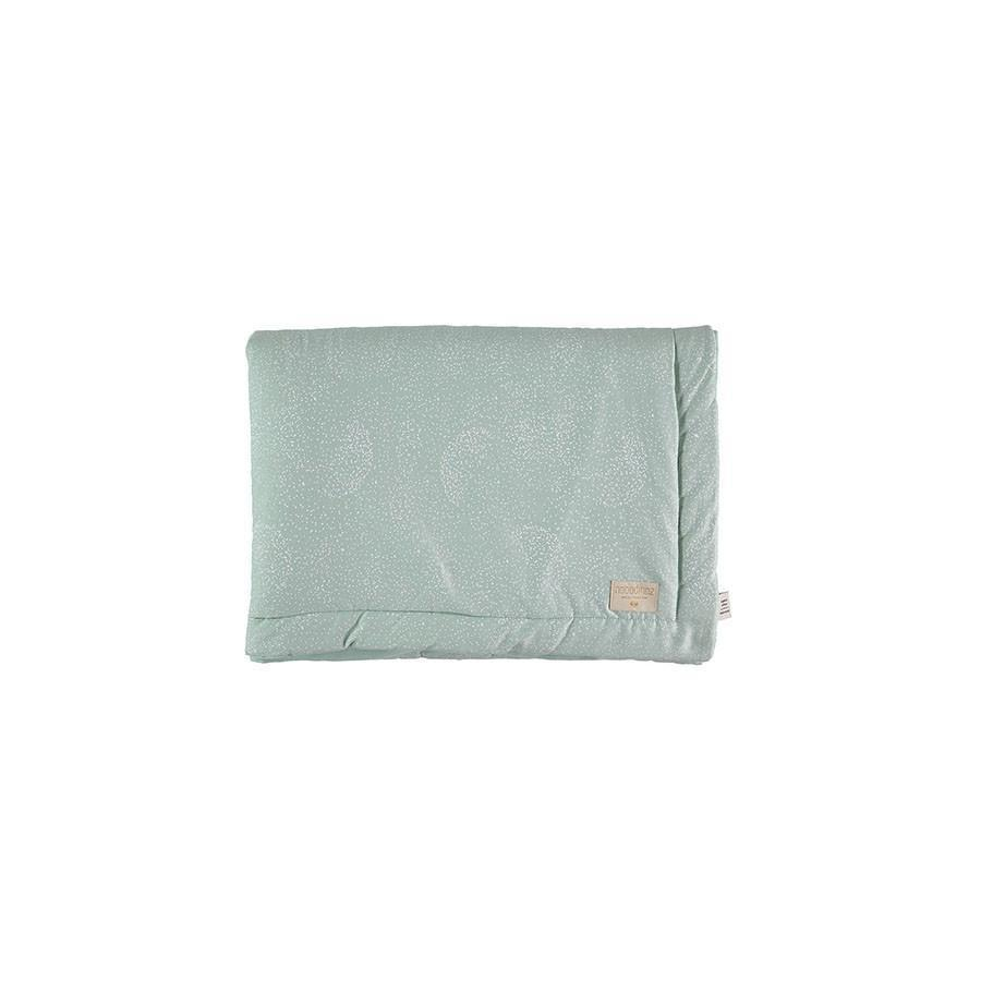 "Blanket ""Laponia White Bubble Aqua"""