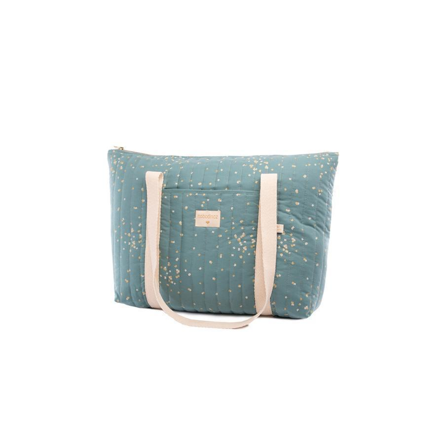 "Changing Bag ""Paris Gold Confetti / Magic Green"""