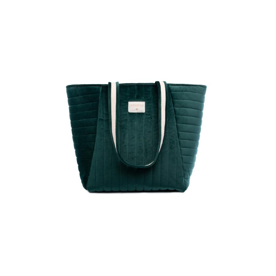 "Changing Bag ""Savanna Velvet Jungle Green"""