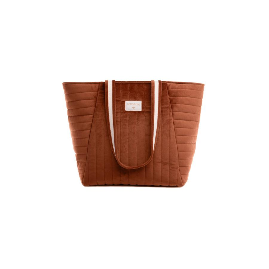 "Changing Bag ""Savanna Velvet Wild Brown"""
