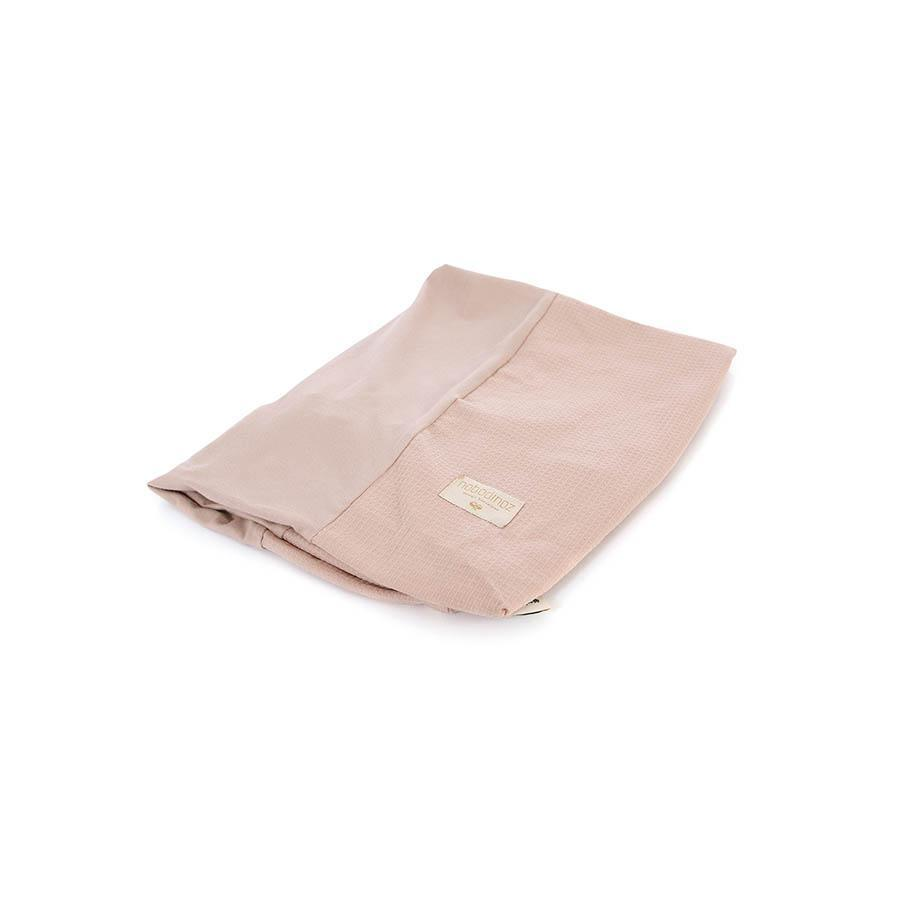 "Changing Cushion Cover ""Calma Honey Comb Misty Pink"""