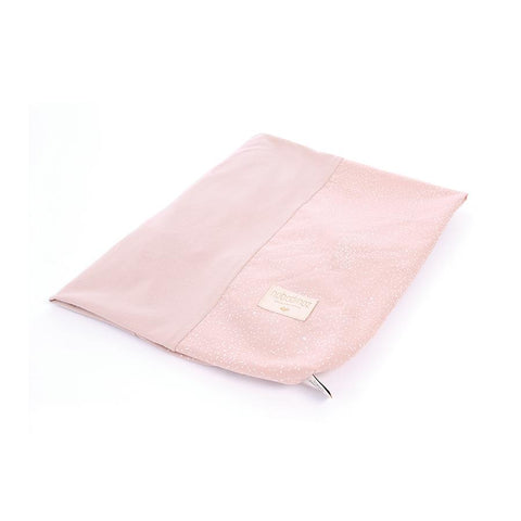 "Changing Cushion Cover ""Calma White Bubble / Misty Pink"""